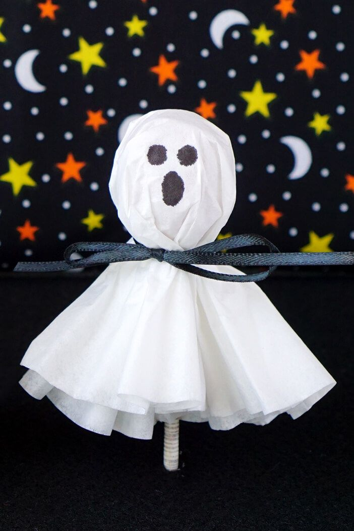 halloween crafts toddlers ghost