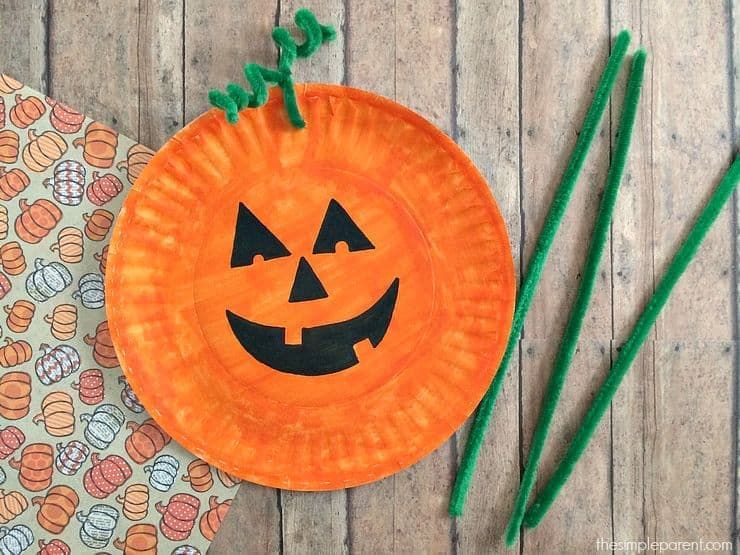 29 Easy Halloween Crafts For Toddlers Quick Preschooler Halloween Ideas