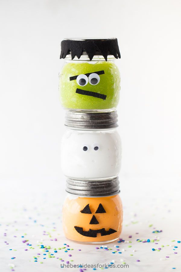 halloween crafts toddlers slime