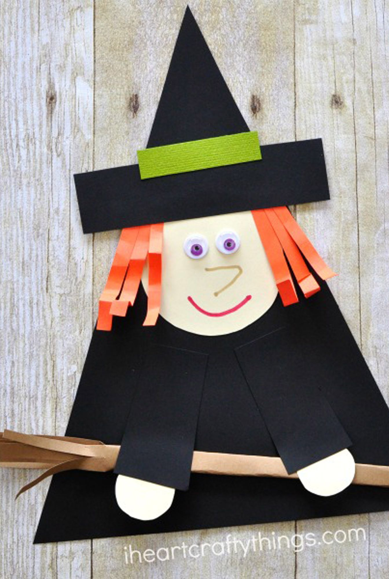 halloween crafts toddlers witch