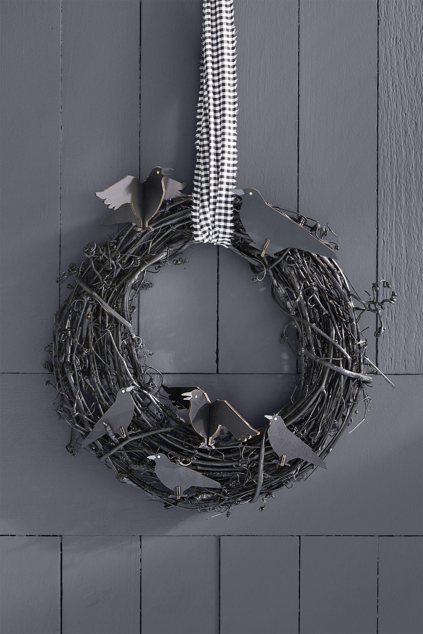 halloween crafts wreath