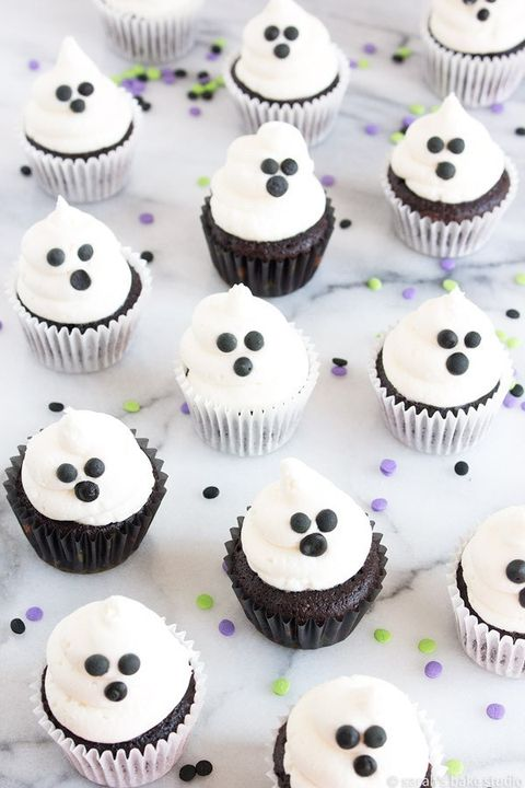 halloween cupcake ideas ghosts