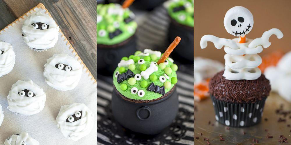 32 Cute Halloween Cupcakes Easy Recipes for Halloween Cupcake Ideas