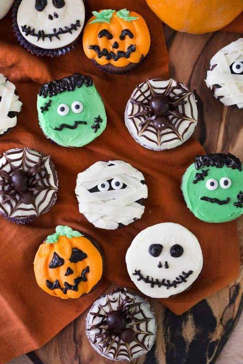 cupcakes halloween desserts