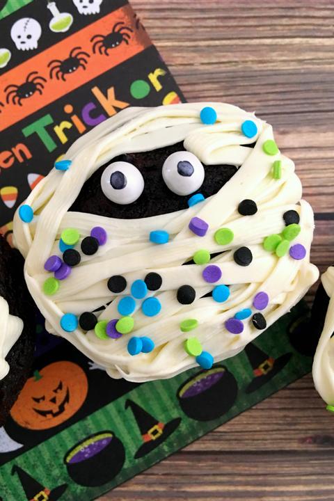 50 Halloween Cupcake Ideas