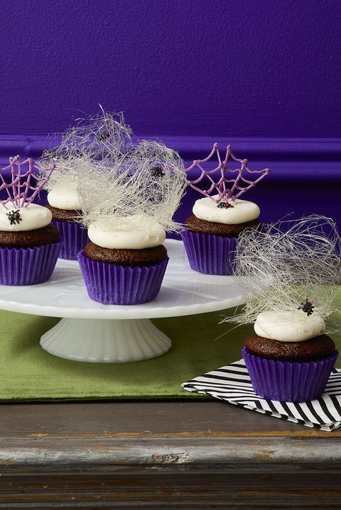 halloween cupcakes spider cupcakes