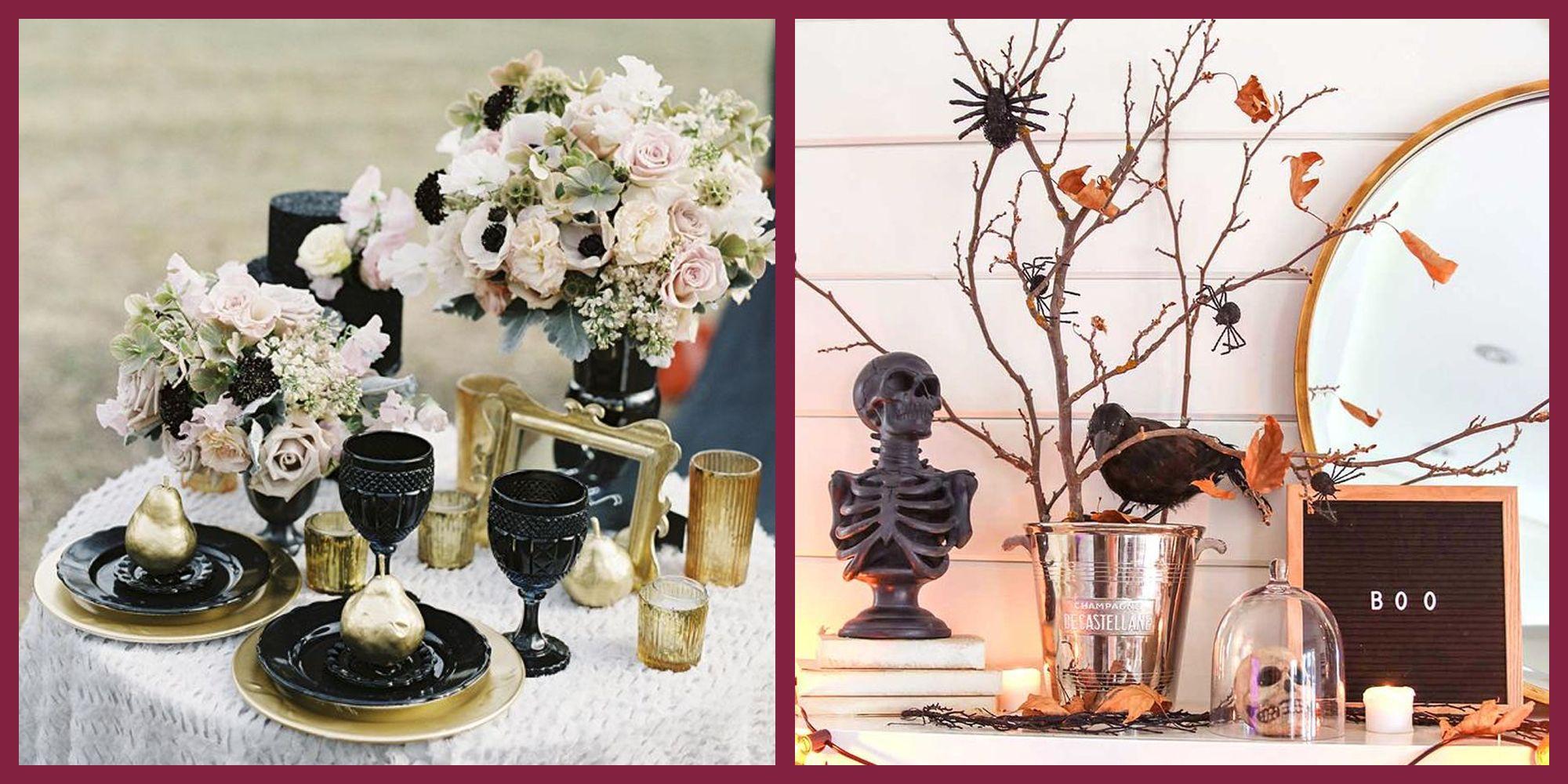 42 Elevated Halloween Decorations 2019 Classy Halloween Decor Ideas