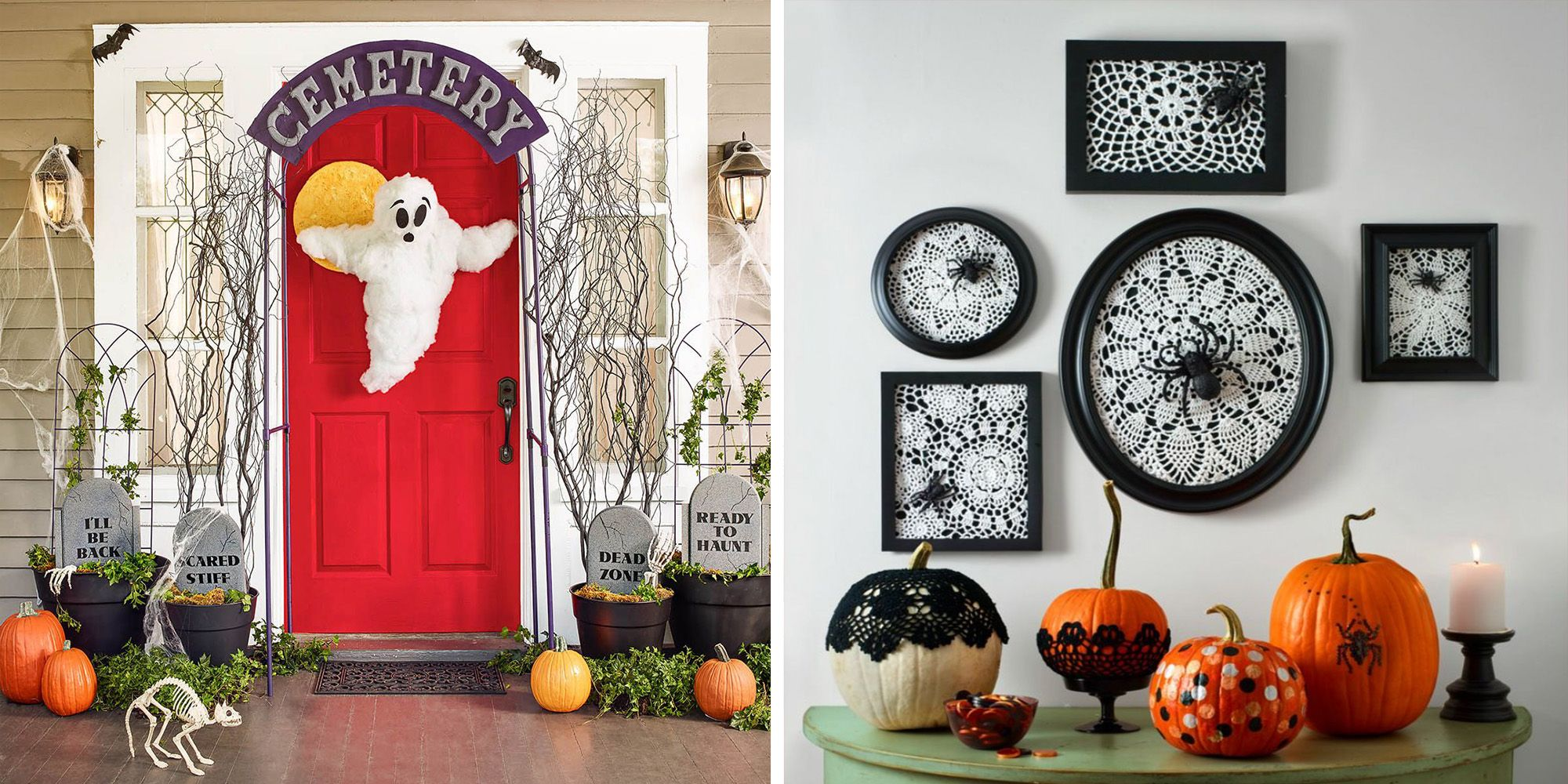 44 Easy Halloween Decorations — Spooky Home Decor Ideas for