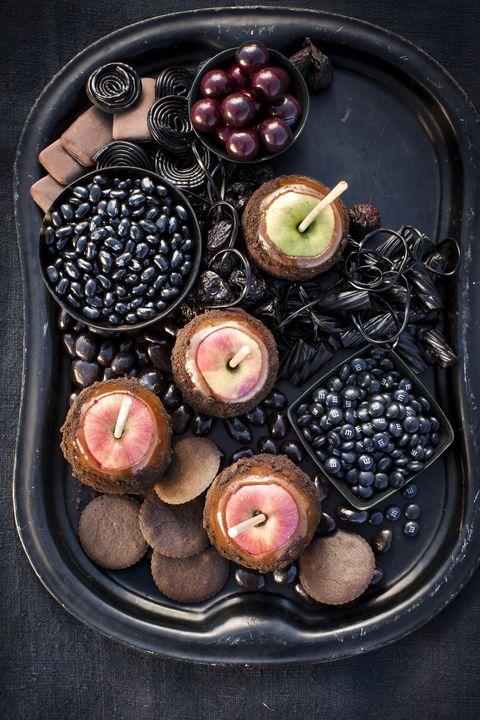 halloween desserts platter of darkness