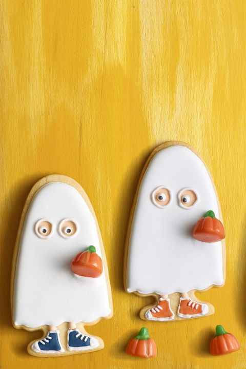 Halloween Desserts - Trick or Treater Cookies