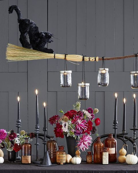 halloween dinner ideas chandelier