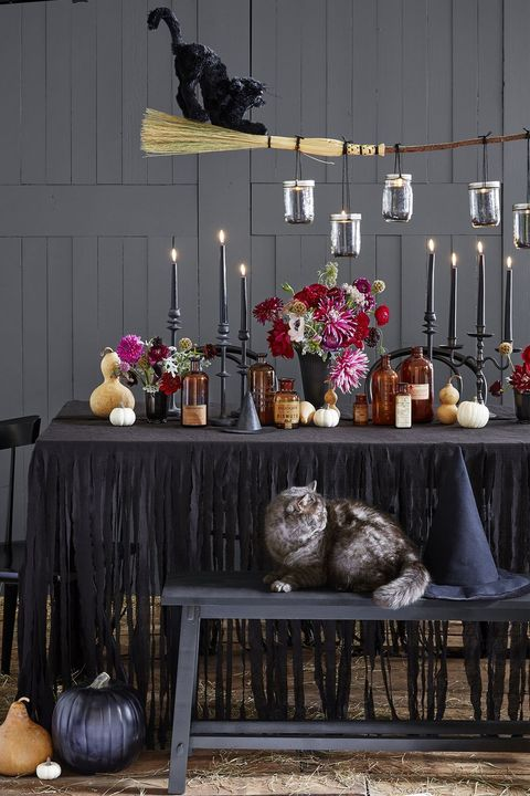 halloween dinner ideas chandelier