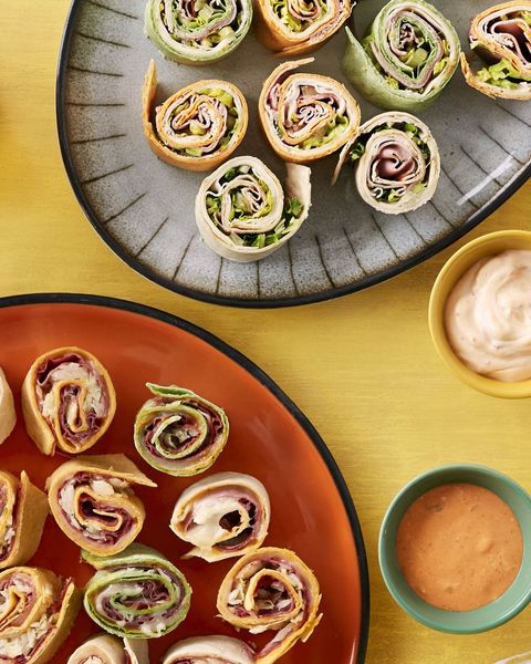make ahead sandwich rolls with dipping sauces