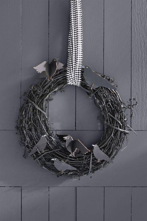 halloween dinner ideas wreath