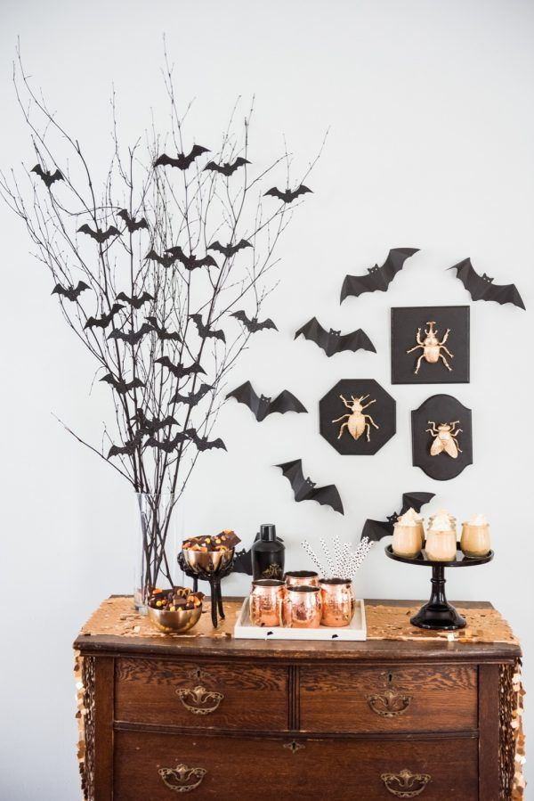 halloween dinner party centerpiece
