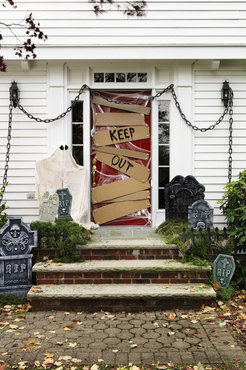Floor 2 Halloween 2020 Door 26 Best Halloween Door Decorations   DIY Halloween Door Decor