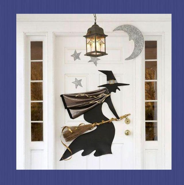 25 Best Halloween Door Decorations Diy Front Door Covers And Decor