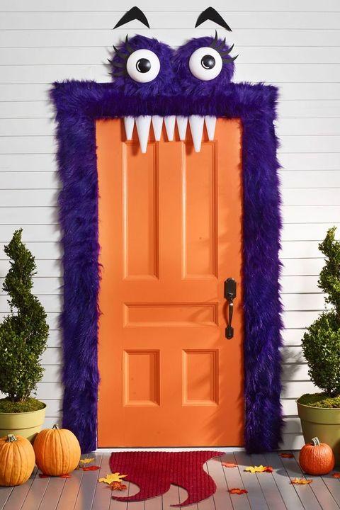 halloween door decorations monster mash door