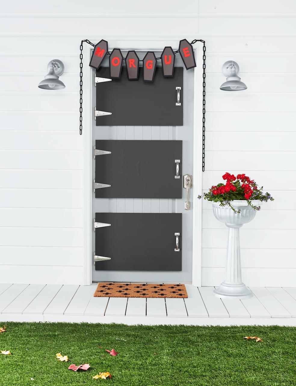 39 Best Halloween Door Decorations Diy Front Door Covers And Decor For Halloween