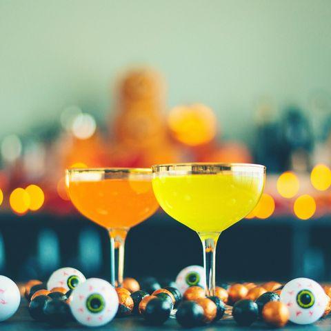 halloween drinking games eyeball beer pong