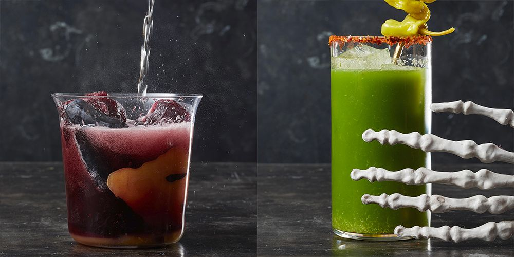 40 Easy Halloween Cocktail Recipes - Best Halloween Party Drinks