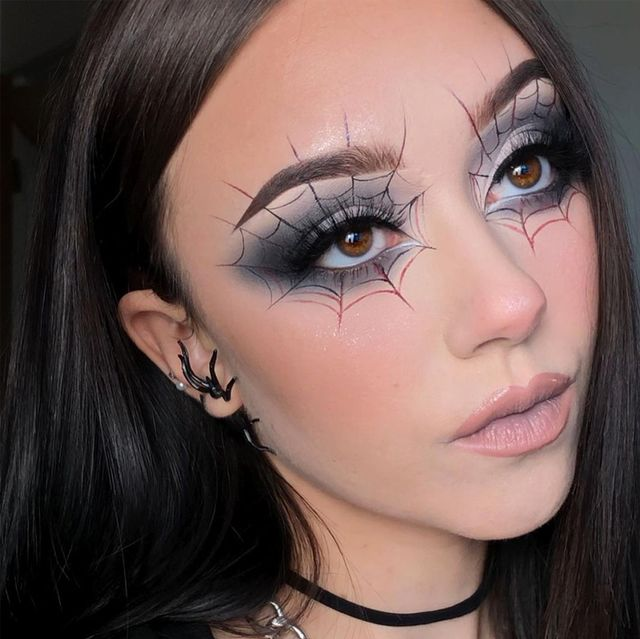 40 Best Halloween Eye Makeup Ideas and Easy Looks for 2021