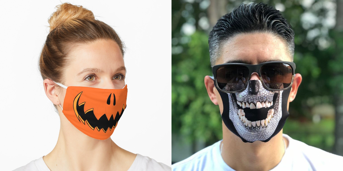 25 Halloween Face Masks for COVID-19 That Are Perfect for a Spooky Celebration