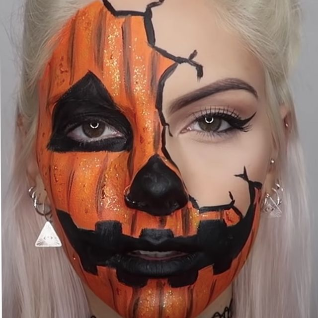 Halloween 2020 Pictures Paintings 23 Halloween Face Paint Ideas 2020 — Face Paint Tutorials