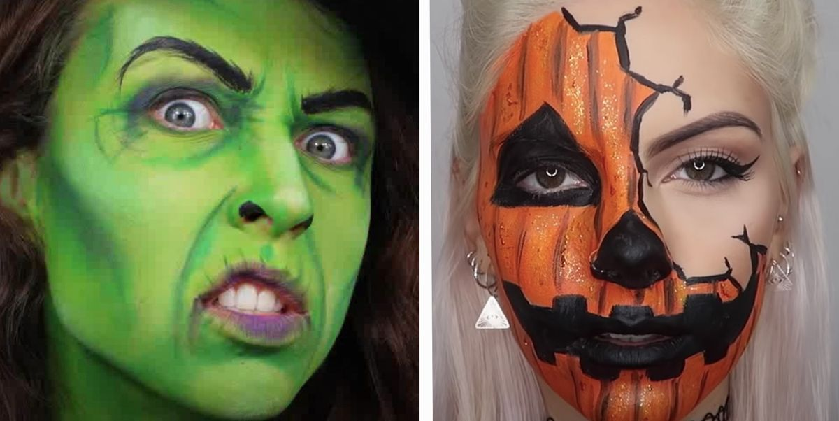 23 Halloween Face Paint Ideas 2020 Face Paint Tutorials