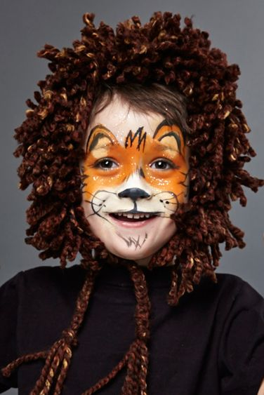 halloween face paint ideas lion face paint