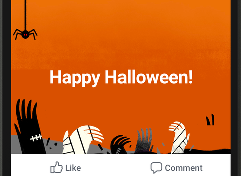 How Many of Facebook's Special Halloween Features Have You Checked ...