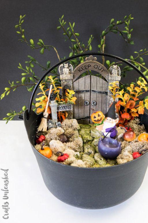 halloween crafts halloween fairy garden