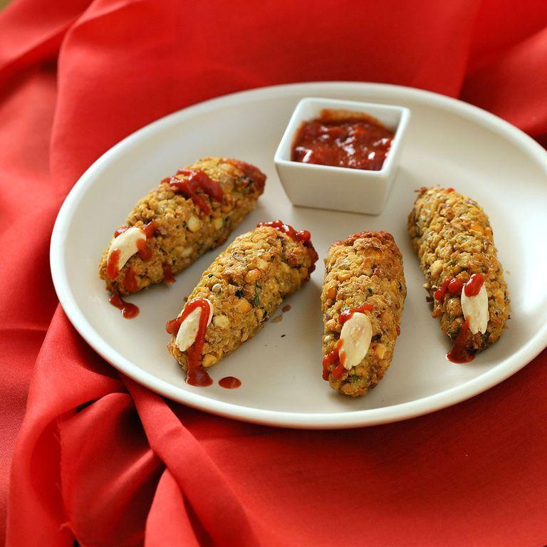 Vegan Richa Bloody Falafel Fingers