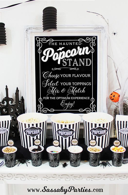 halloween party themes - halloween horror movie party