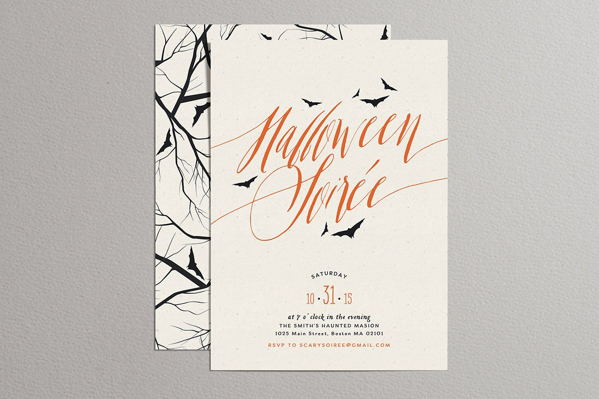 14 Halloween Party Invitations - Adult Halloween Party Ideas