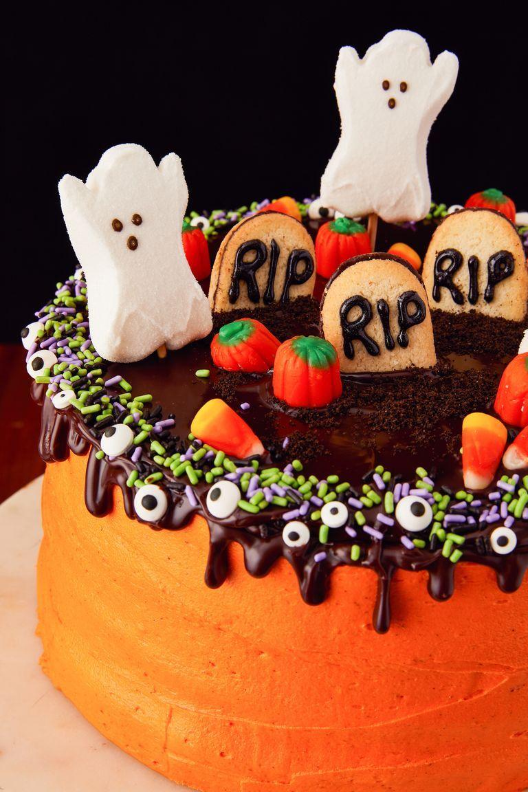 19 Spooky Halloween Cakes - Easy Halloween Cake Ideas