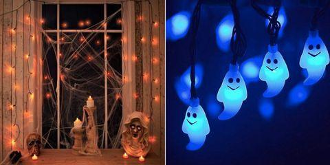 21 Spooky Halloween lights - Halloween fairy lights on led lighting effects, halloween laser lighting effects, haunted house lighting effects, spooky halloween sound effects, outdoor halloween lighting effects,