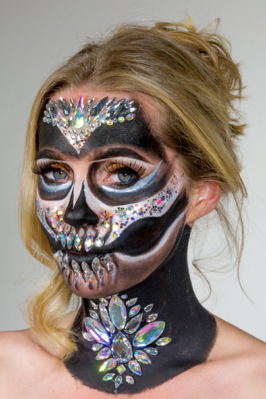 Ruuby halloween makeup service