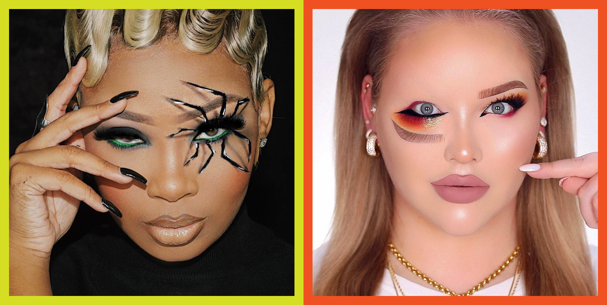 Behold: 25 Halloween Eye Makeup Looks That Don't Require a Costume
