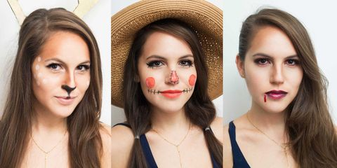 10 easy halloween makeup tutorials  halloween makeup