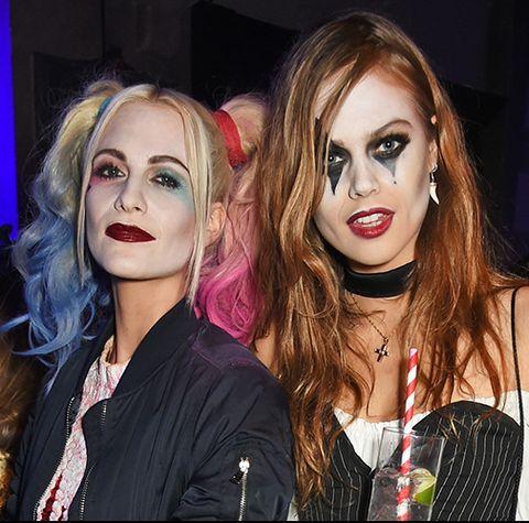 How to remove hardcore Halloween make-up