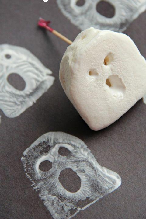 halloween crafts kids ghost