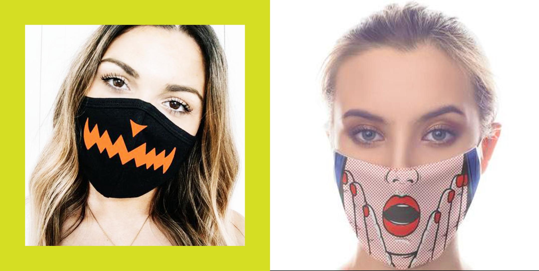 16 Festive Halloween Costume Ideas with Face Masks