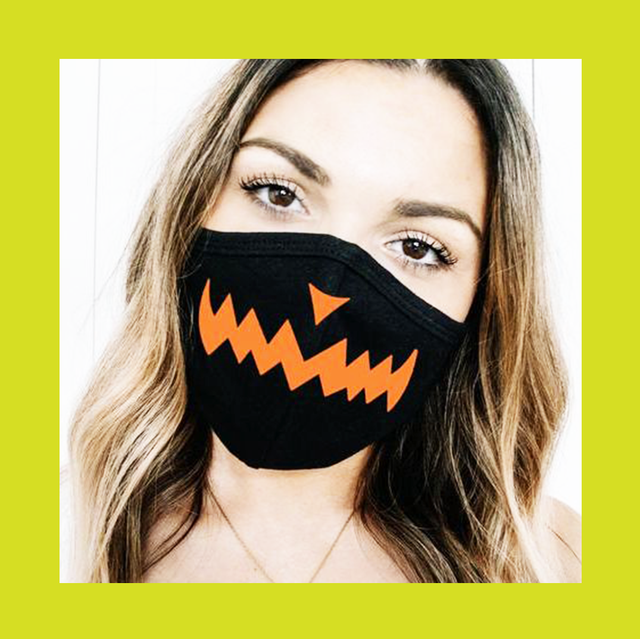 16 Festive Halloween Costume Ideas with Face Masks