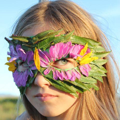 halloween masks nature mask