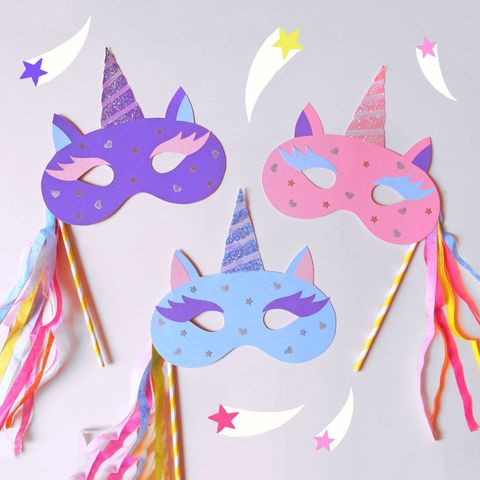 halloween masks unicorn mask