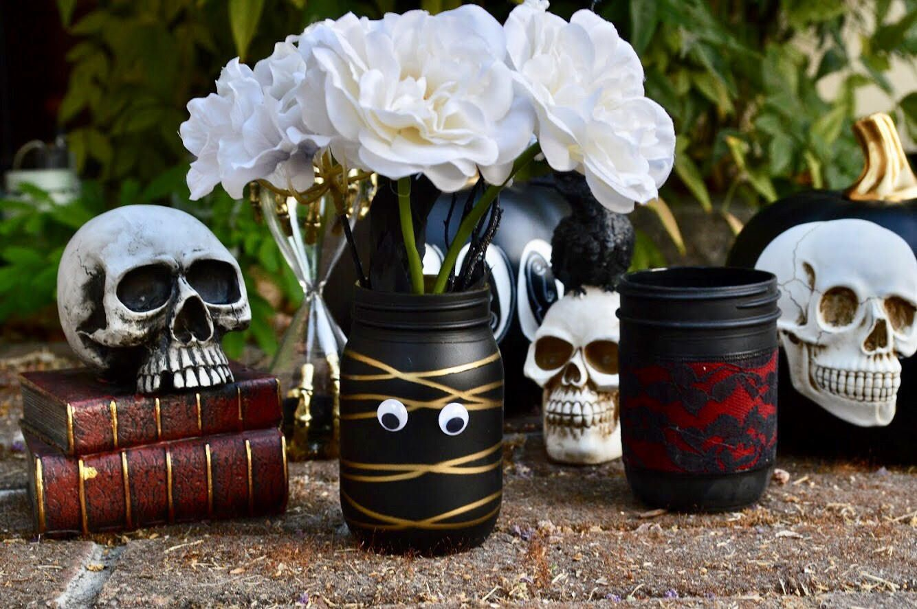 13 halloween mason jar ideas you'll love - cool halloween mason jars