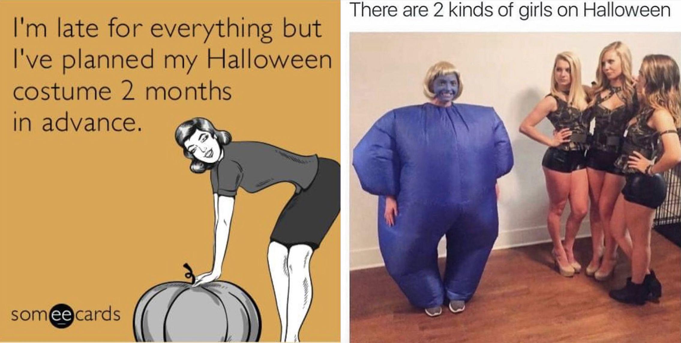 20 Funny Halloween Memes , Hilarious Halloween Joke Images