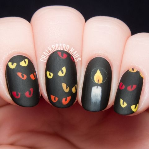 23 Spooktacular Halloween Nail Art,Design Simple Poster Background Design Simple Background Images