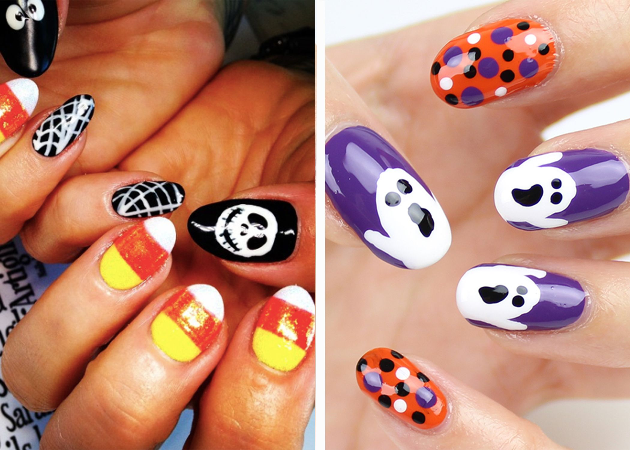 Easy To Do Halloween Nails.23 Spooktacular Halloween Nail Art